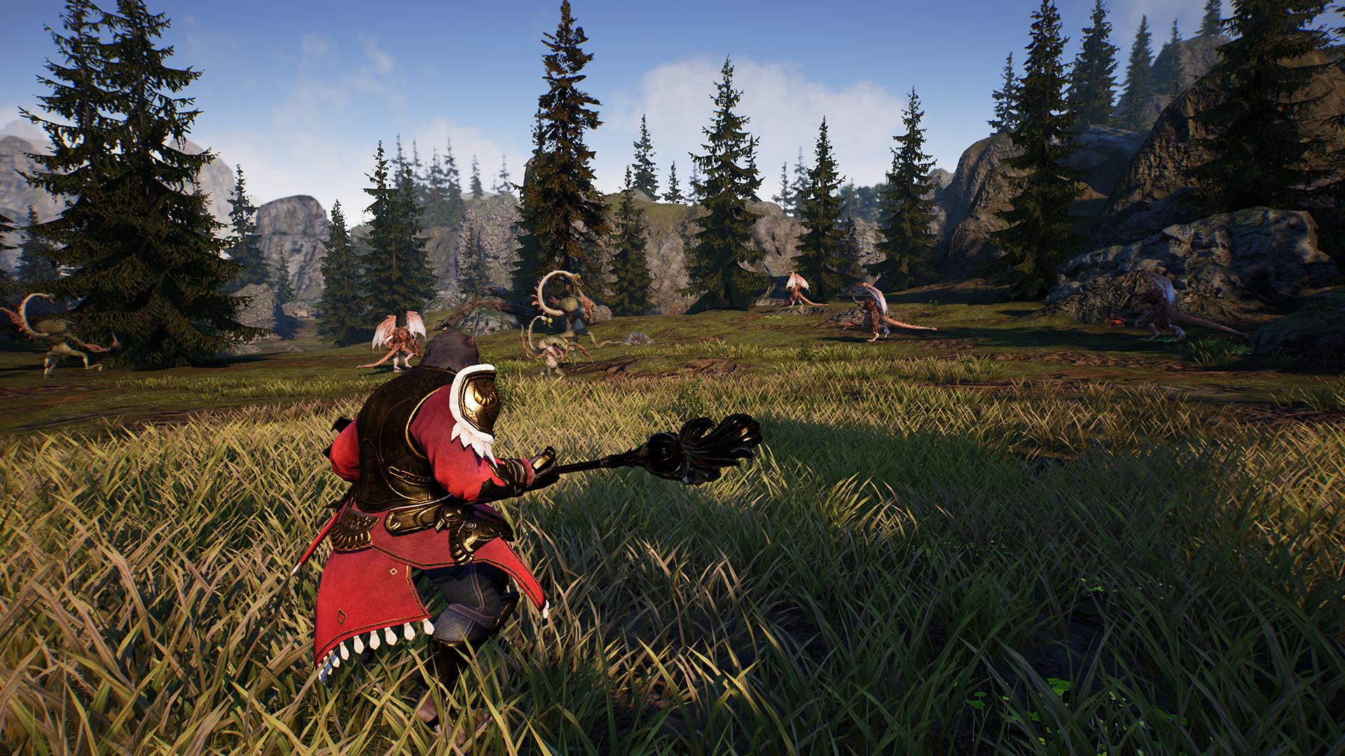 Xbox One版《神佑》登陆PC 配置公布 2021年在Steam发售