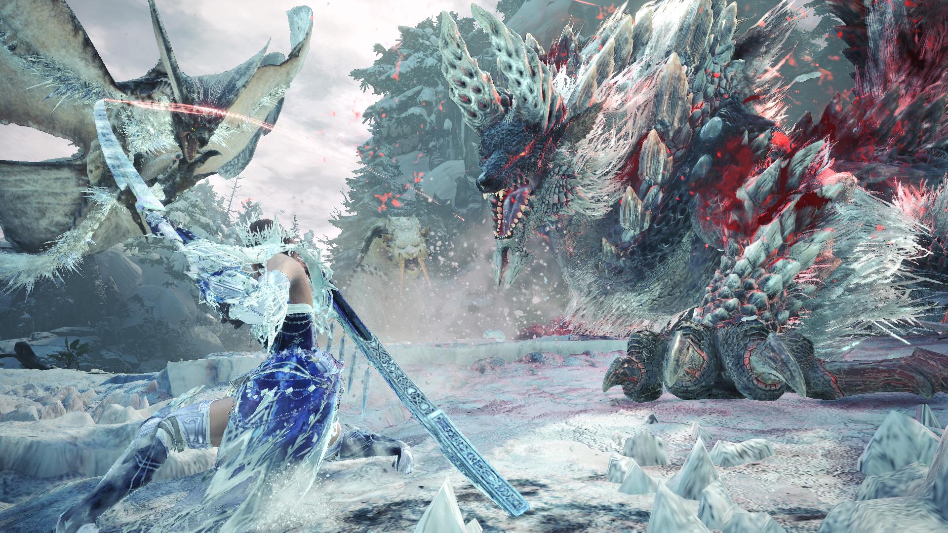 《怪物猎人世界:冰原》免费大型更新第4弹7月9日上线