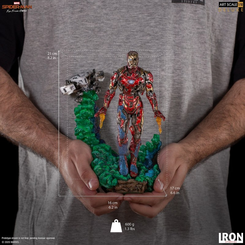 Iron Studios推出 丧尸钢铁侠 1/10雕像 售价1275元
