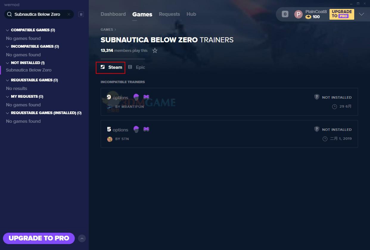 《深海迷航:冰点之下》v2020.07.01九项修改器[MrAntiFun][Steam]
