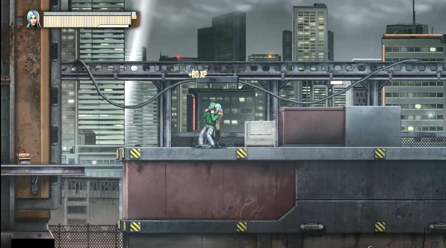 2D横版赛博朋克RPG《DEX》 7月24日登陆Switch