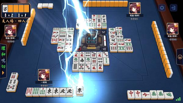 二次元日麻对战!《雀魂麻将》7月15日登陆Steam
