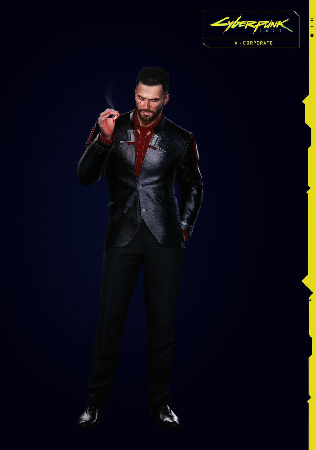《赛博朋克2077》发布新图 主角V制服形象公开