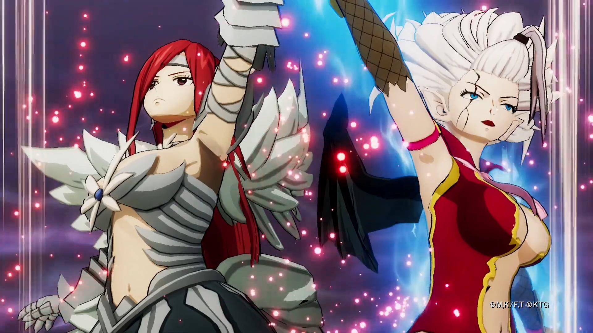 《妖精的尾巴》新演示:艾尔莎、米拉珍发动合