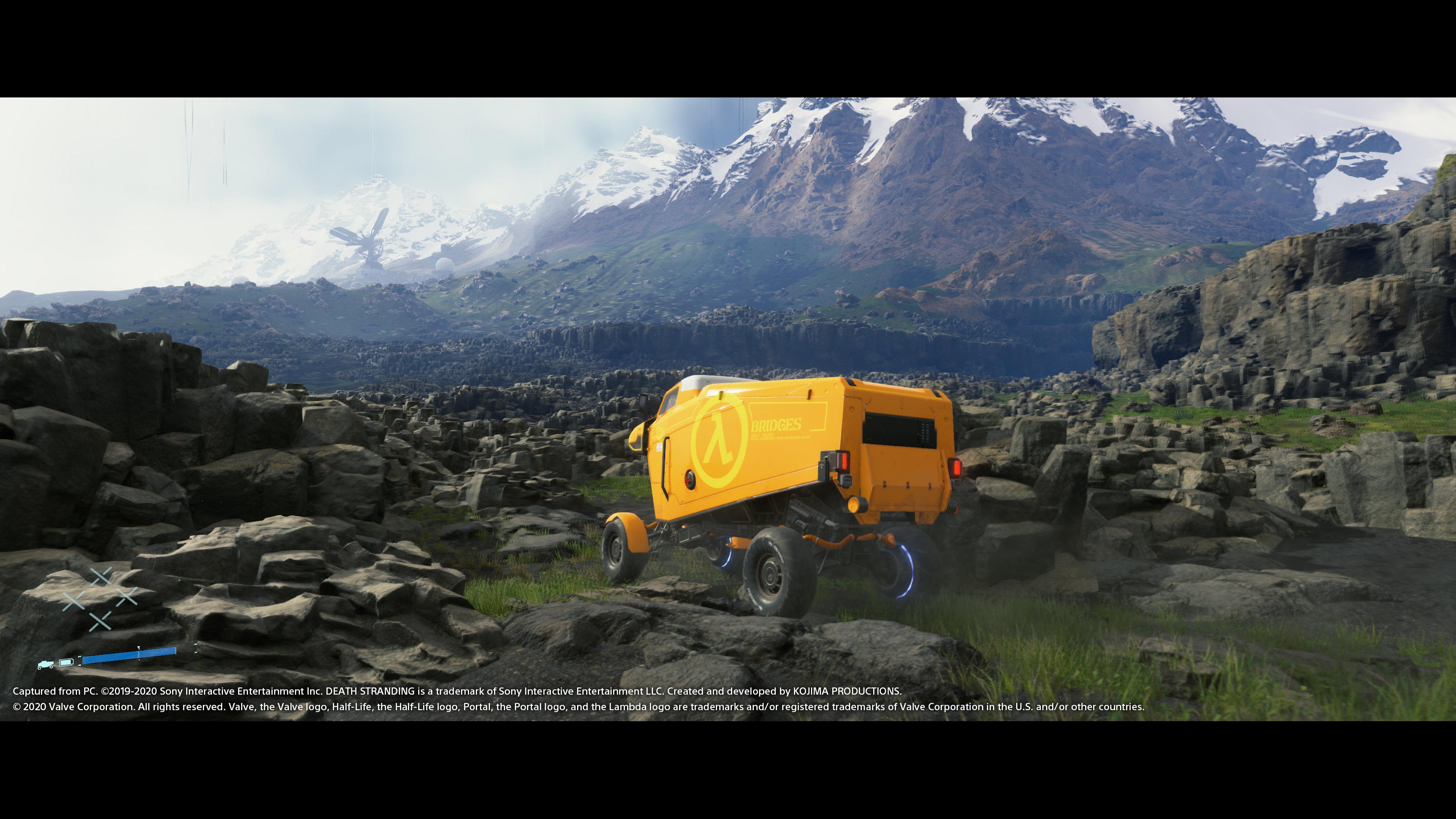 《死亡搁浅》PC版新截图 支持4K、超宽屏