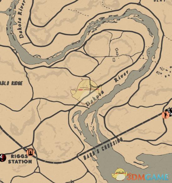 《荒野大镖客2》达科塔河鱼类产出介绍