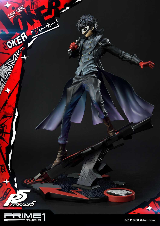 《女神异闻录5》主角Joker限量版1/4雕像开启预约 售价5000多元