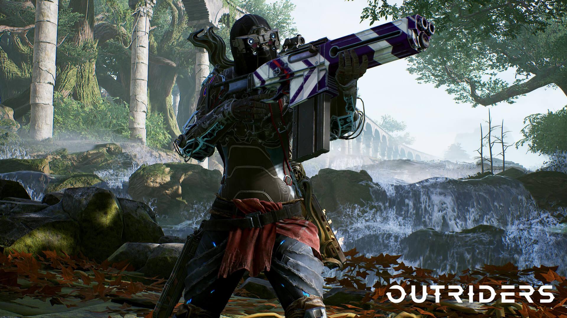 科幻射击游戏《Outriders》新演示 剧情丰富枪战刺激