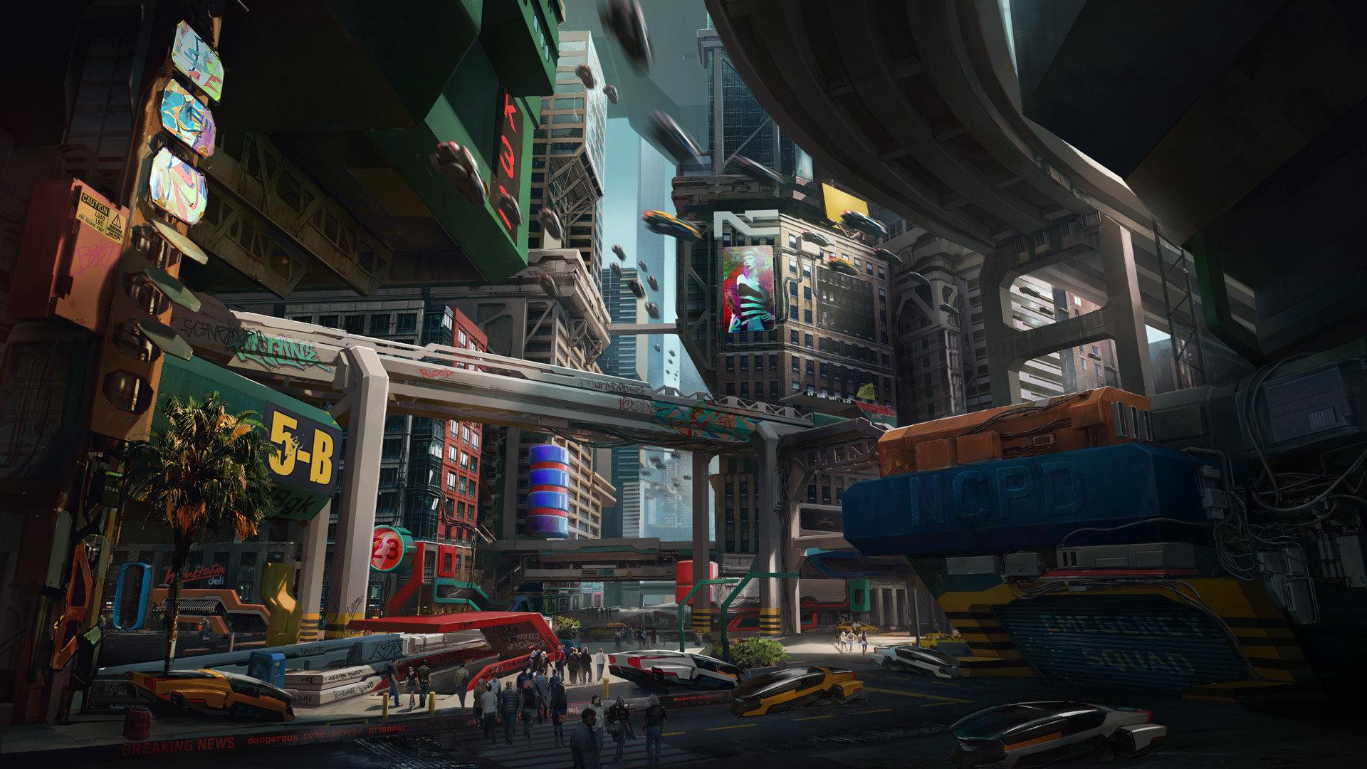 本地资讯_《赛博朋克2077》新截图 帮派盘踞的穷街恶巷沃森_3DM单机