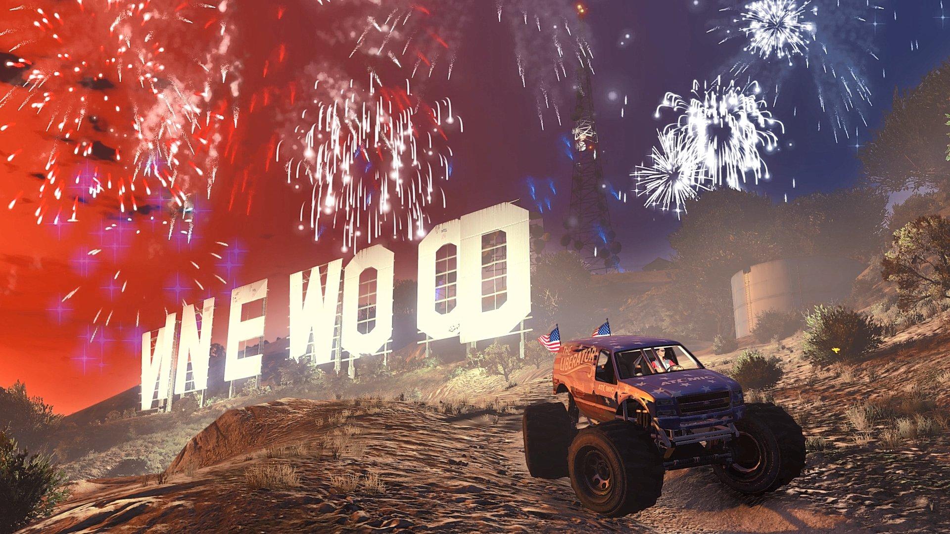 GTA在线模式欢庆《独立日》  特殊商战奖励、折扣等开启