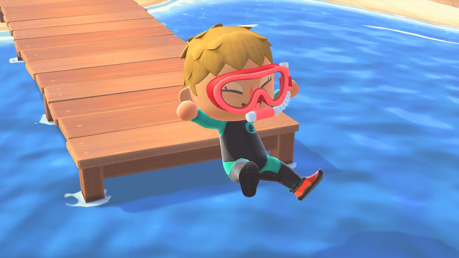 《集合啦!动物森友会》夏季免费更新已上线 可在大海游泳