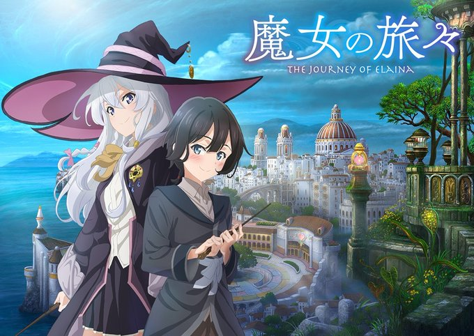 TV动画《魔女之旅》新PV、视觉图公开 今年10月放送