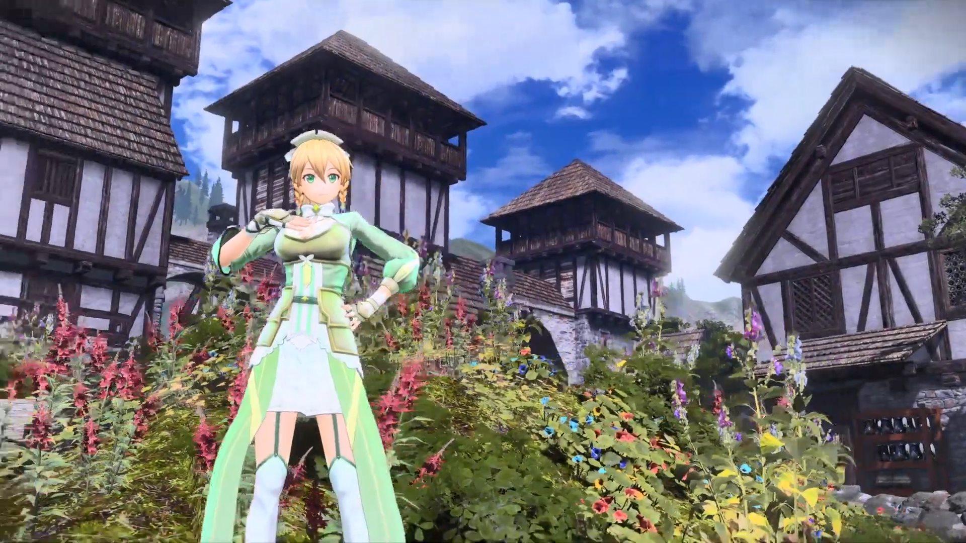 《刀剑神域:彼岸游境》角色演示 桐人之妹莉法