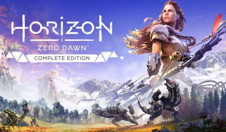 《地平线:黎明时分》游戏标题艺术字更新 为系