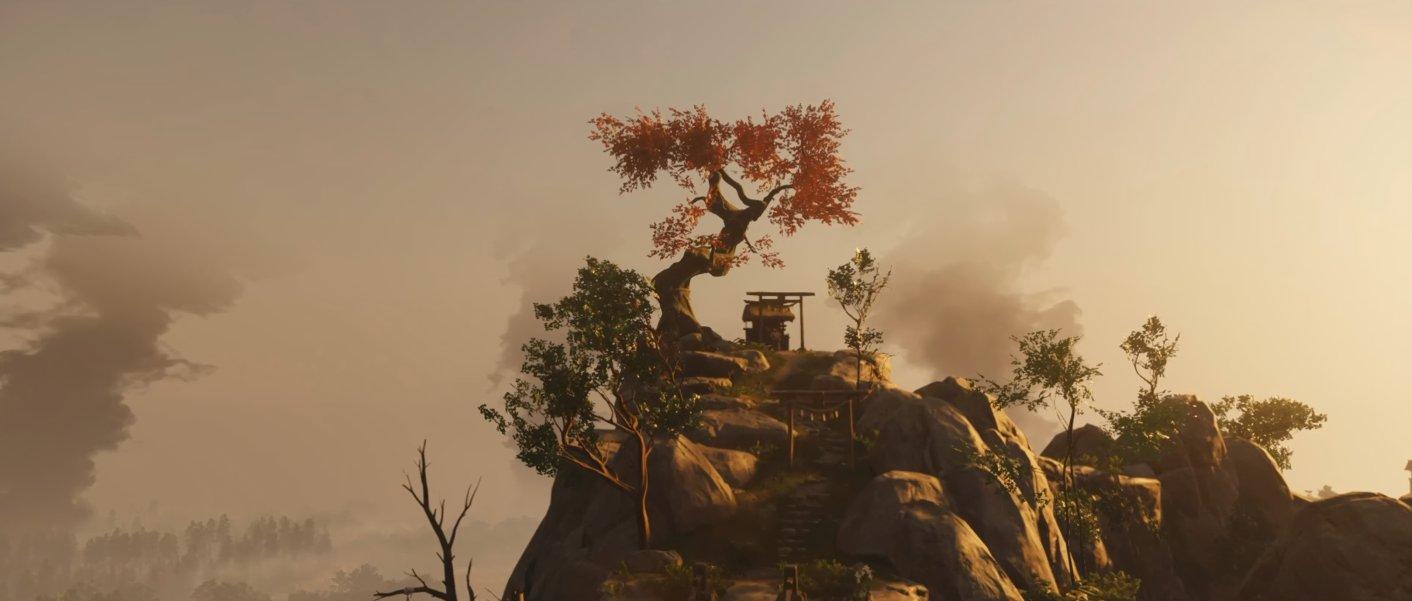 《对马岛之鬼》游戏截图曝光 境井仁的战鬼之路