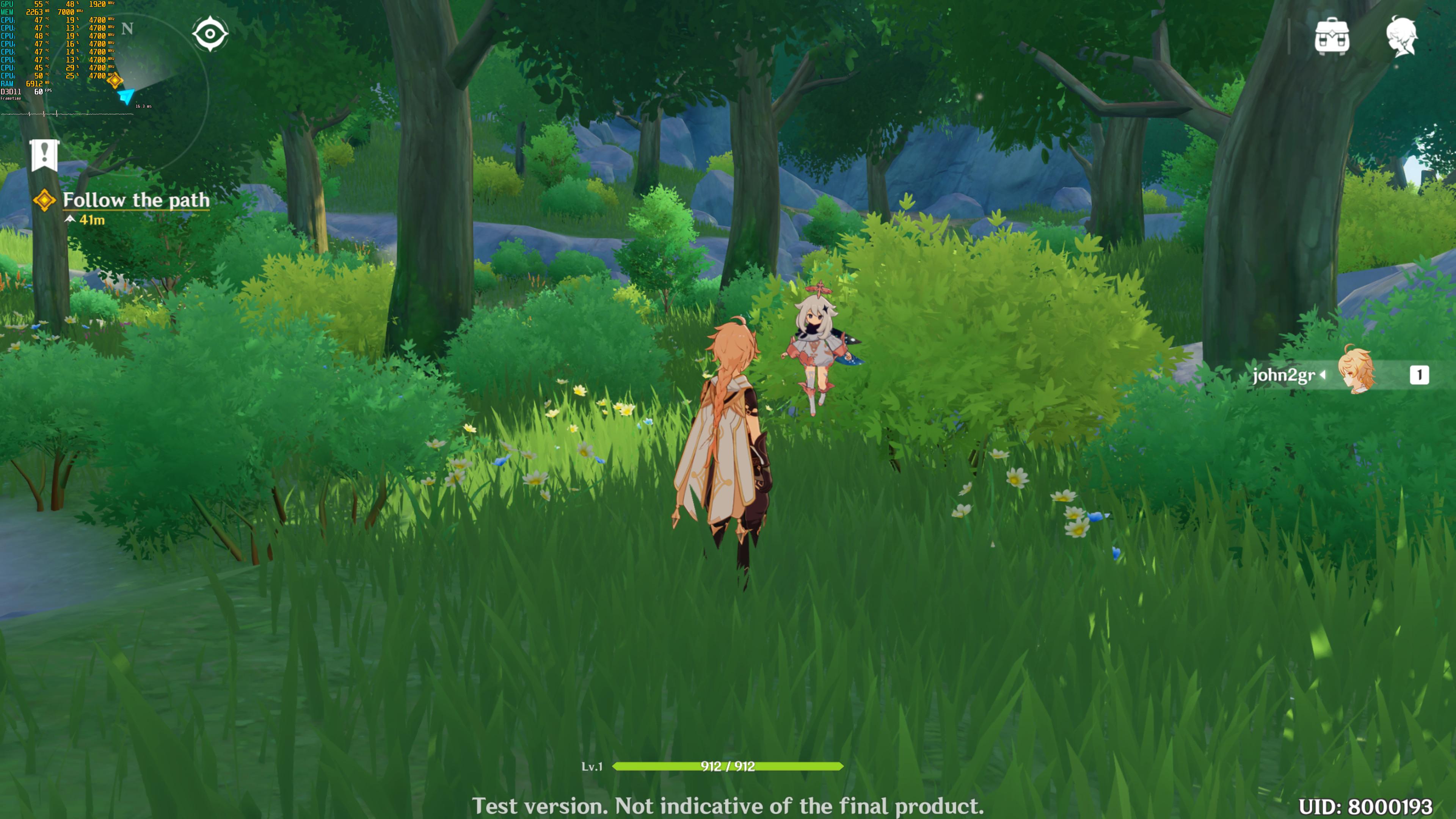 《原神》PC版大量新截图欣赏 4K、最高画质