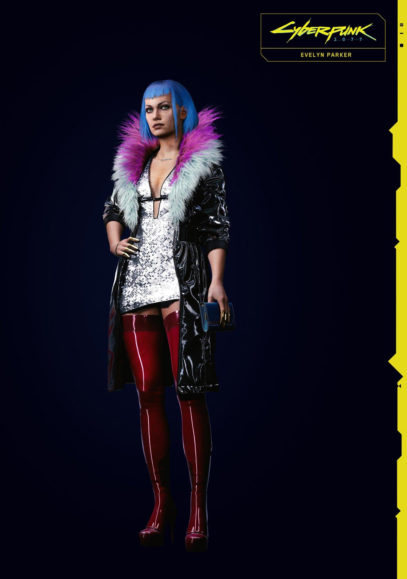 《赛博朋克2077》新NPC介绍 性偶职员艾芙琳帕克野心勃勃