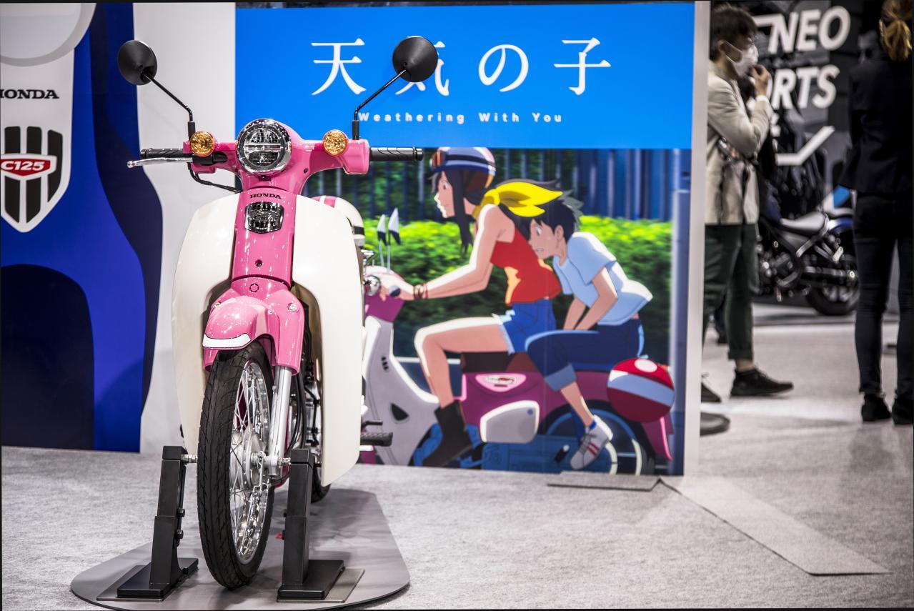 《天气之子》版本田小狼摩托车7月发售 新海诚表