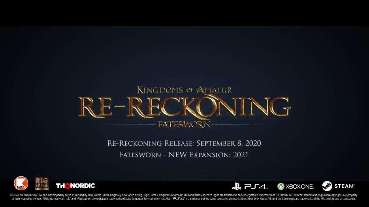《阿玛拉王国:惩罚 重置版》将于9月正式发售 新预告片公开