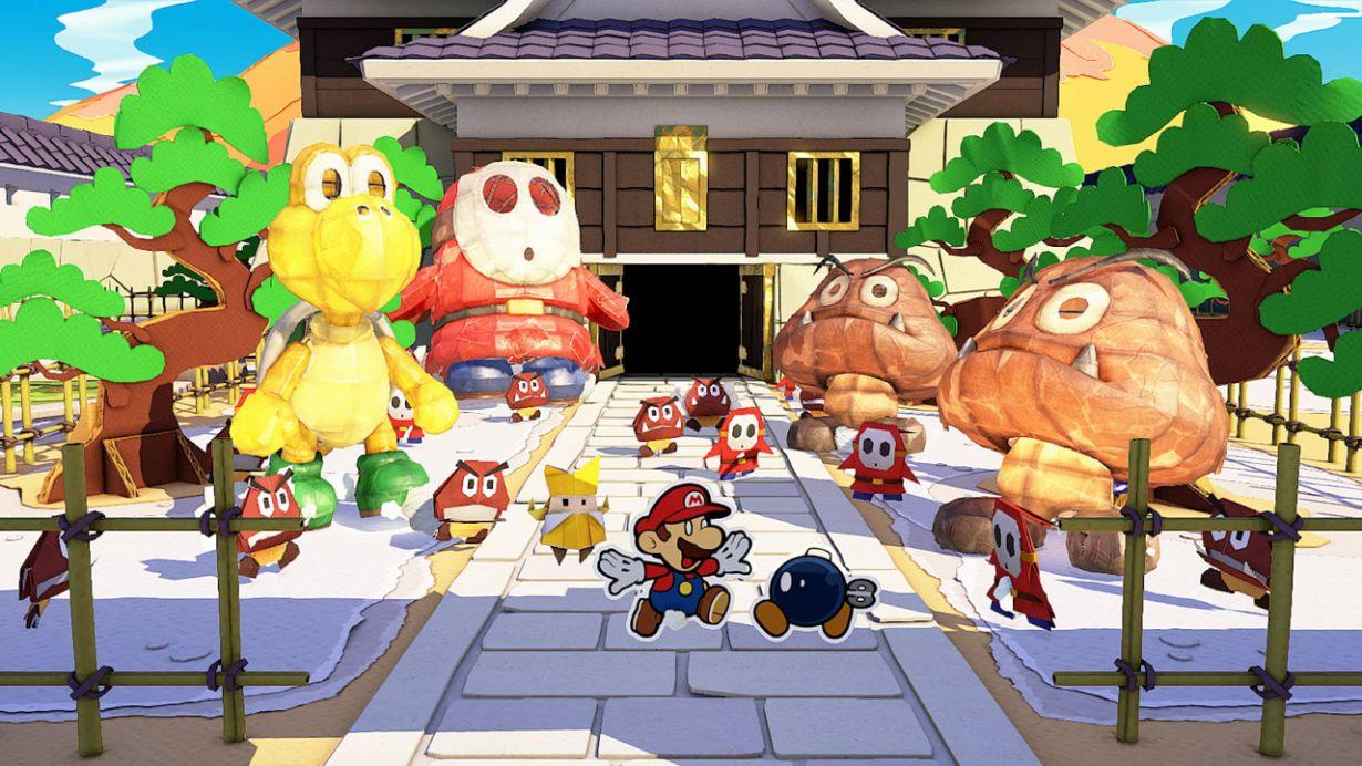 Fami通一周游戏评分:《纸片马力欧:折纸国王》36分登白金殿堂