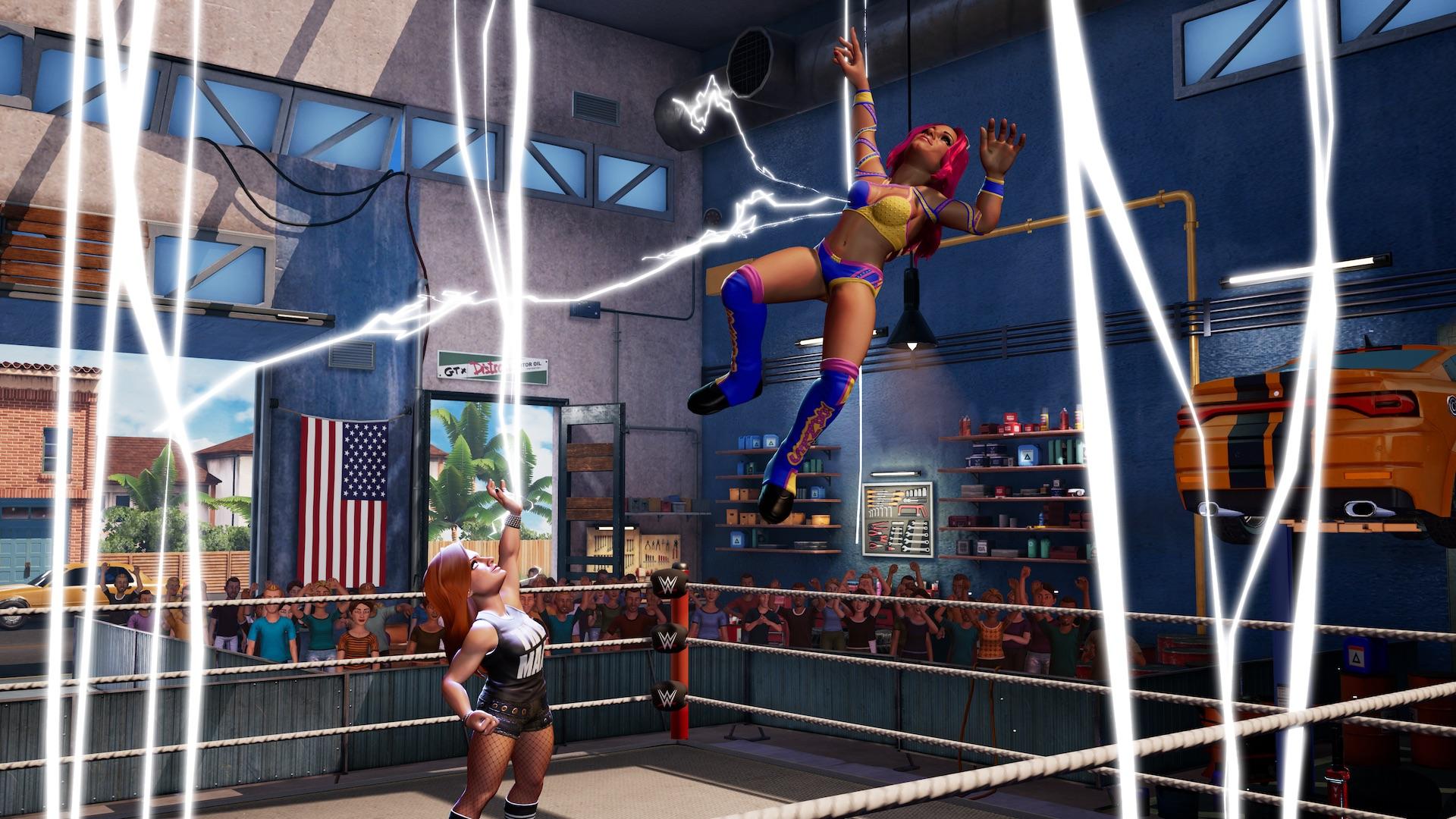 街机风格《WWE 2K竞技场》新预告释出 9月18日发售