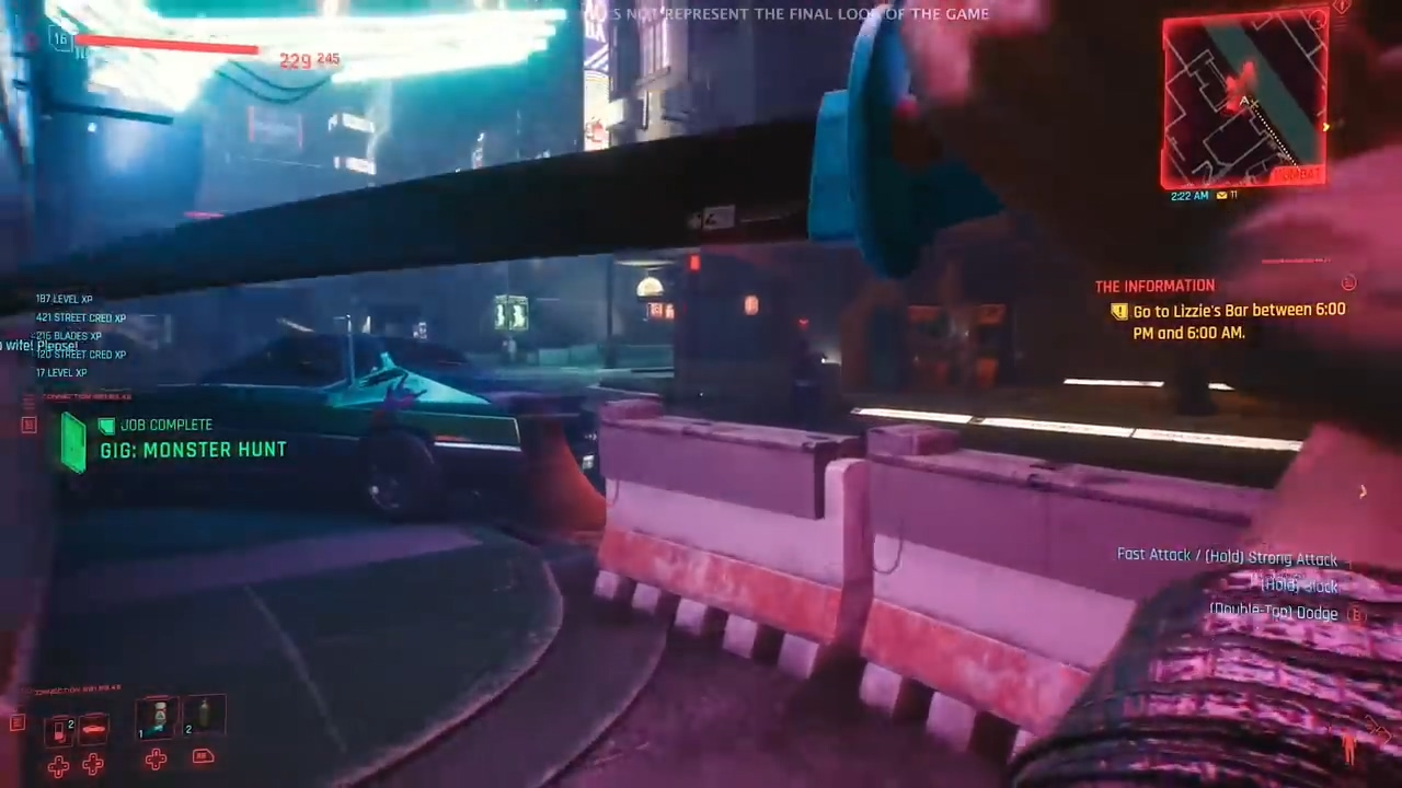 《赛博朋克2077》新演示片段 武士刀可挡子弹