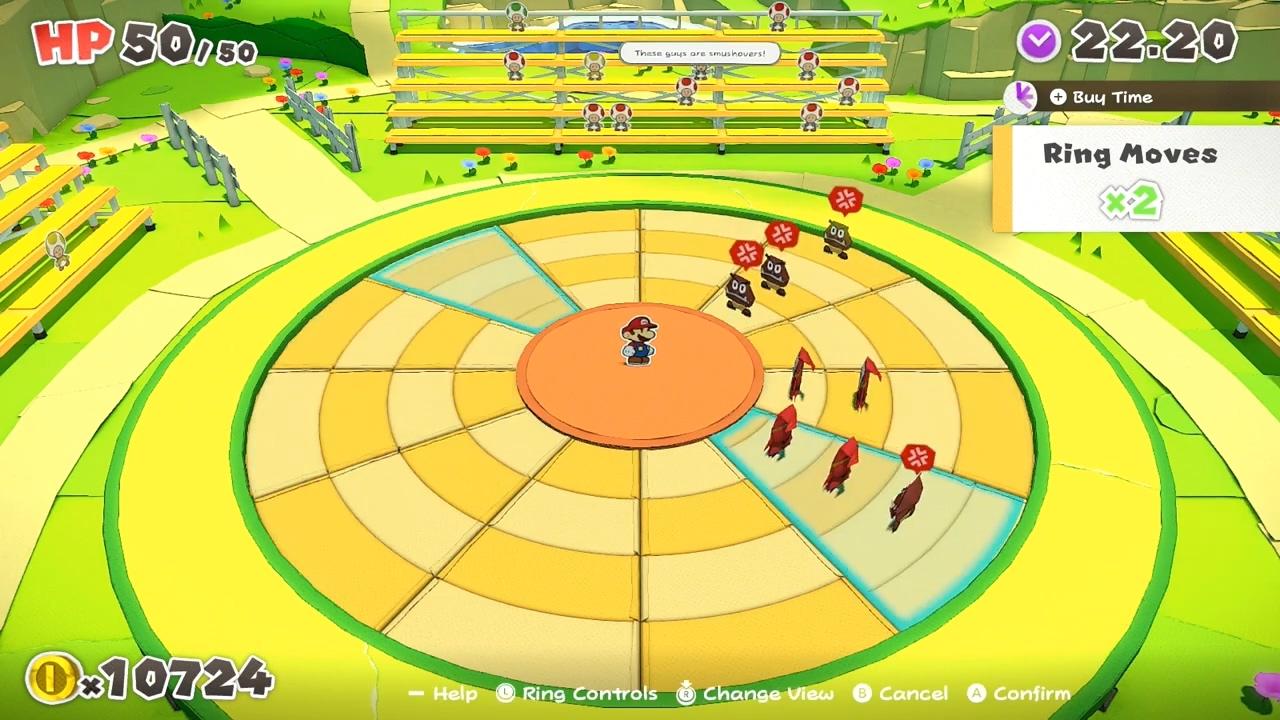 游戏新消息:纸片马力欧折纸国王11分钟演示拼板×动作战斗系统