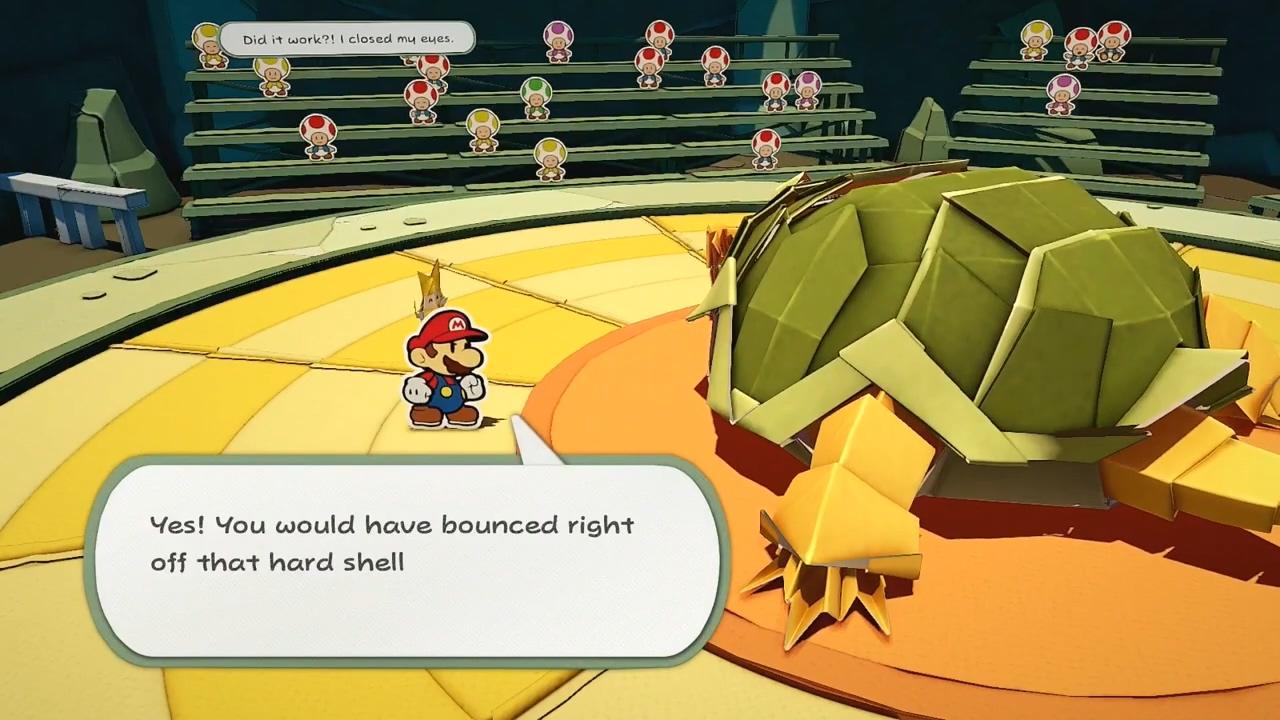 《纸片马力欧:折纸国王》11分钟演示 拼板×动作战斗系统