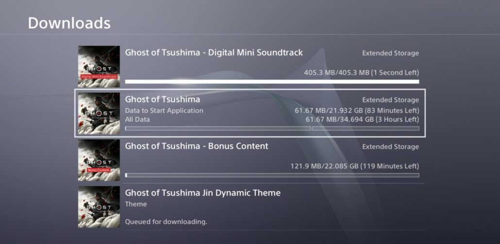 《对马岛之鬼》现已开启预载 PS4版只需34GB