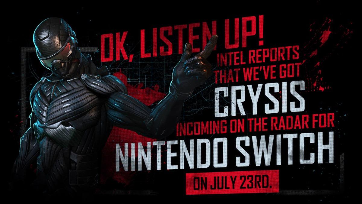 《孤岛危机:复刻版》Switch版7月23日发行 新截图发布