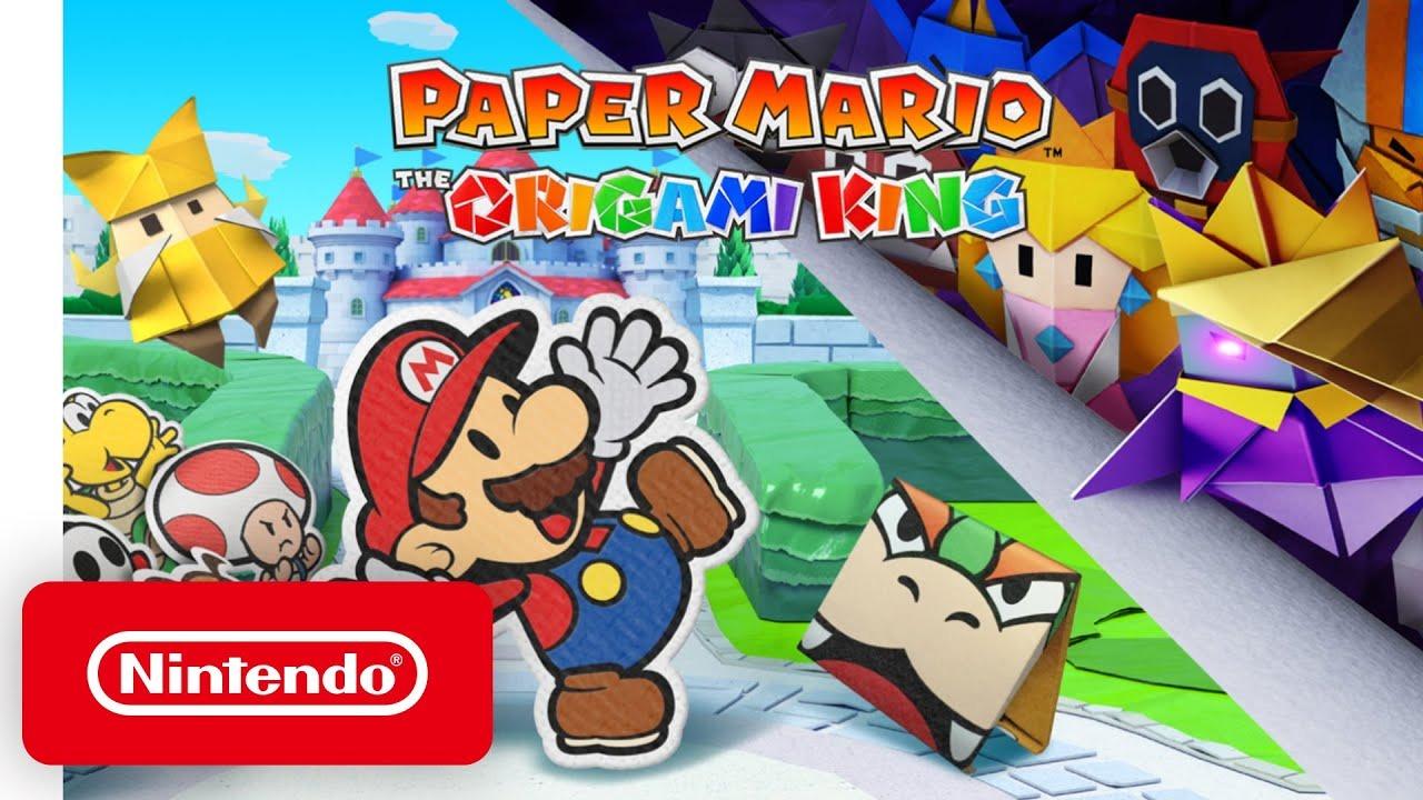 《纸片马力欧:折纸国王》全新实机直播视频公