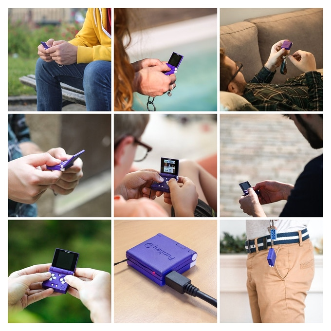 酷似迷你版GBA掌机!宣称世界最小掌机FunKey S开启众筹