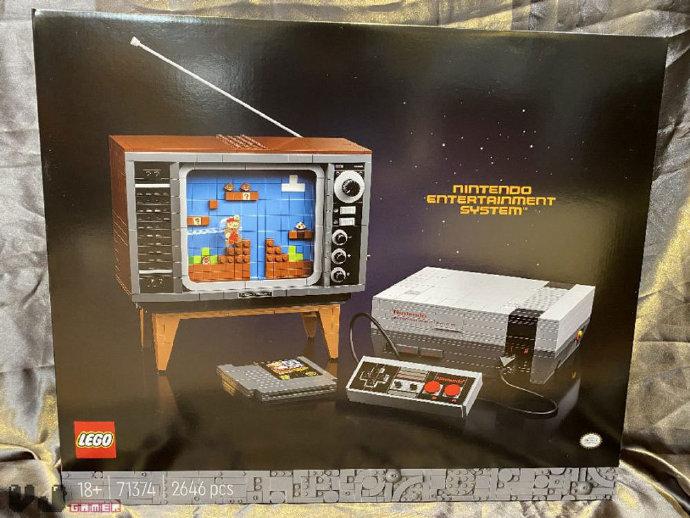 乐高NES公布:2646个零件 8月1日开售