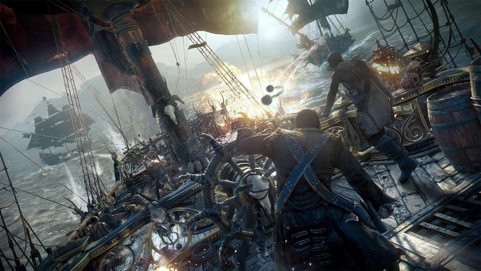 传《碧海黑帆》再次重启 注重合作玩法并非竞争
