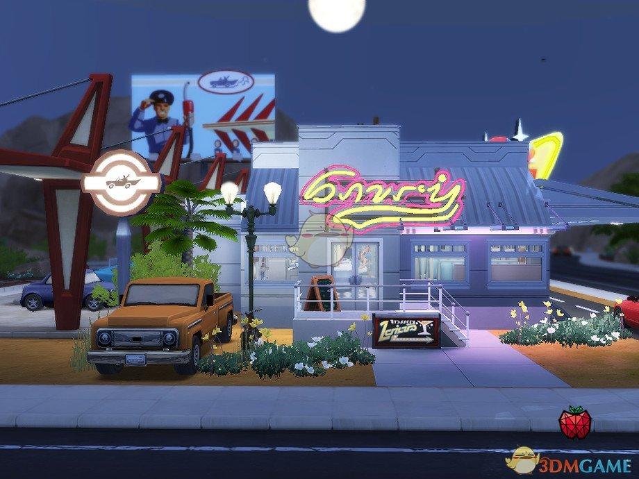 《模拟人生4》詹姆斯餐厅MOD