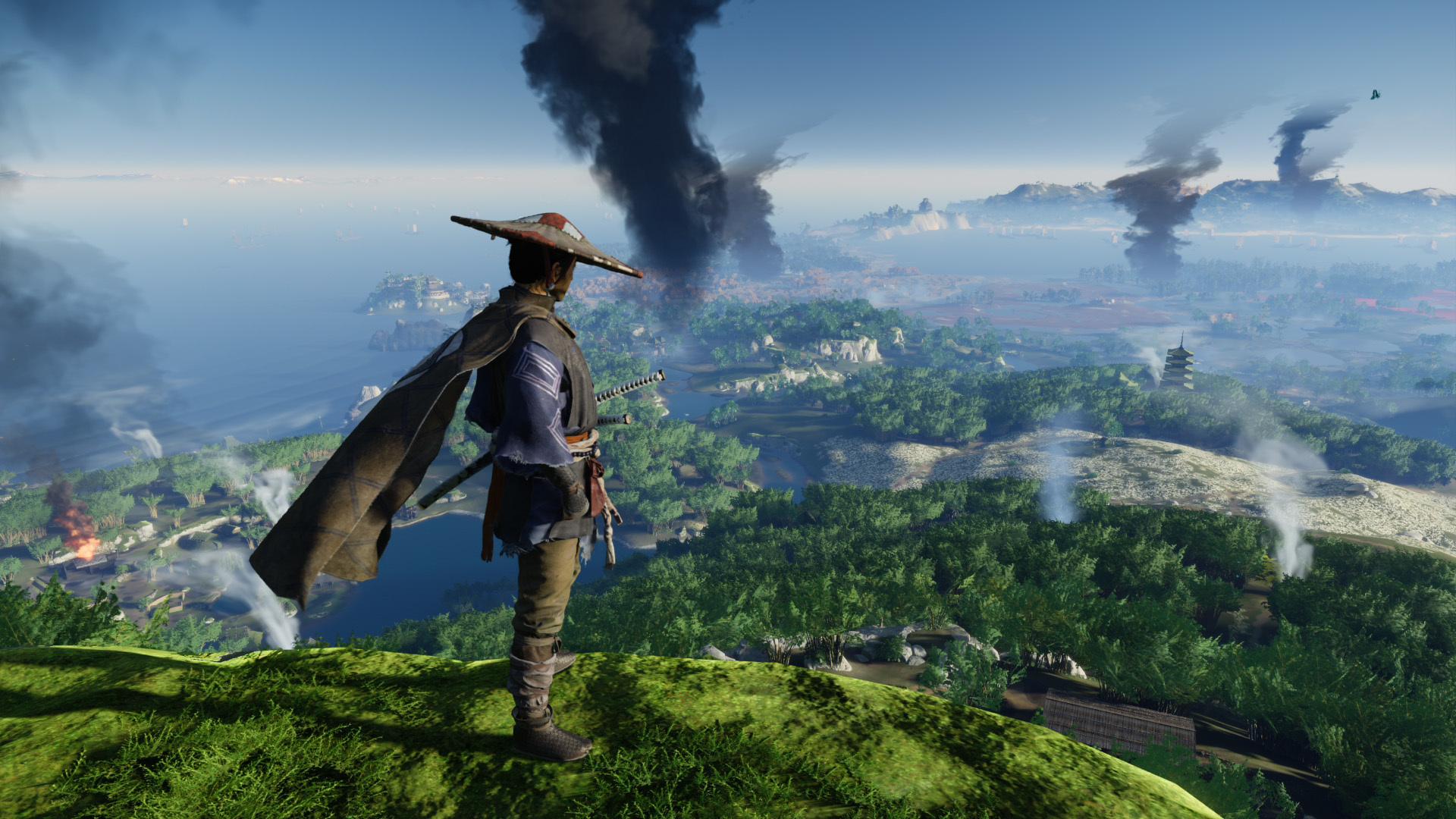 《对马岛之鬼》评分解禁:IGN 9分 GameSpot 7分