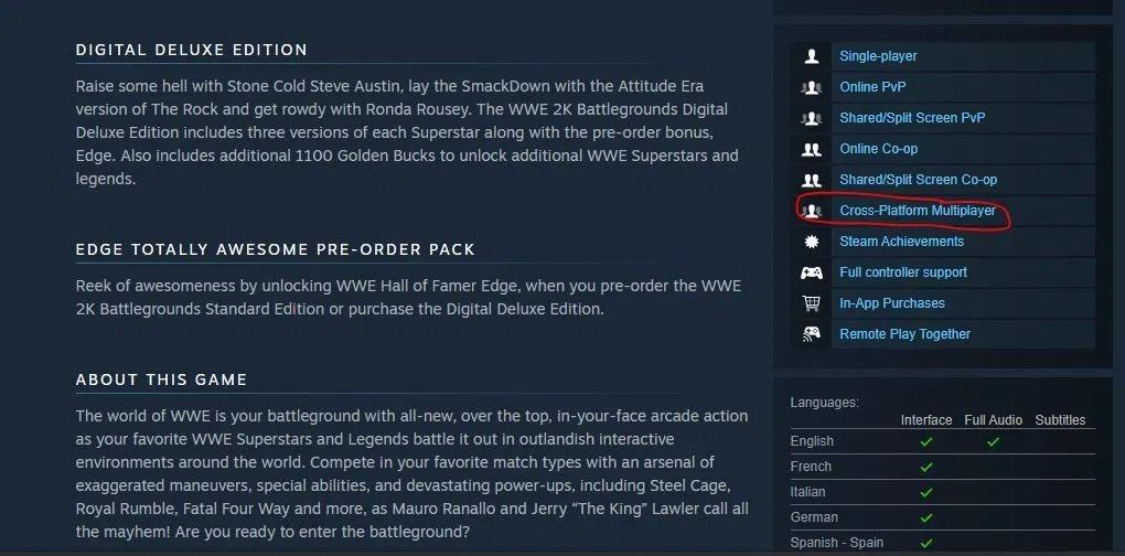 《WWE 2K竞技场》是该系列首款支持跨平台的游戏