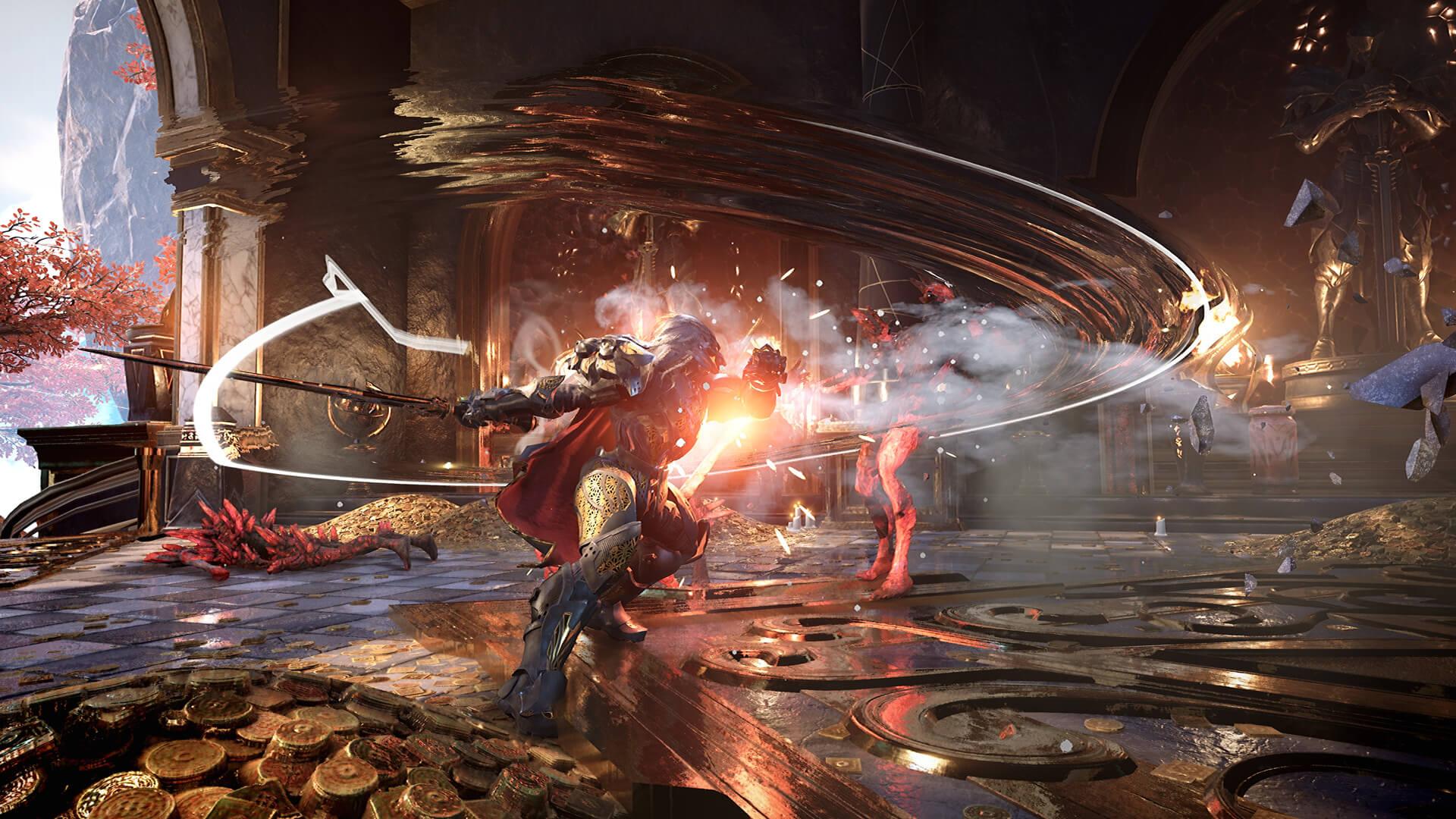 次世代ARPG《众神陨落》将于11月12日发售 迎接挑战