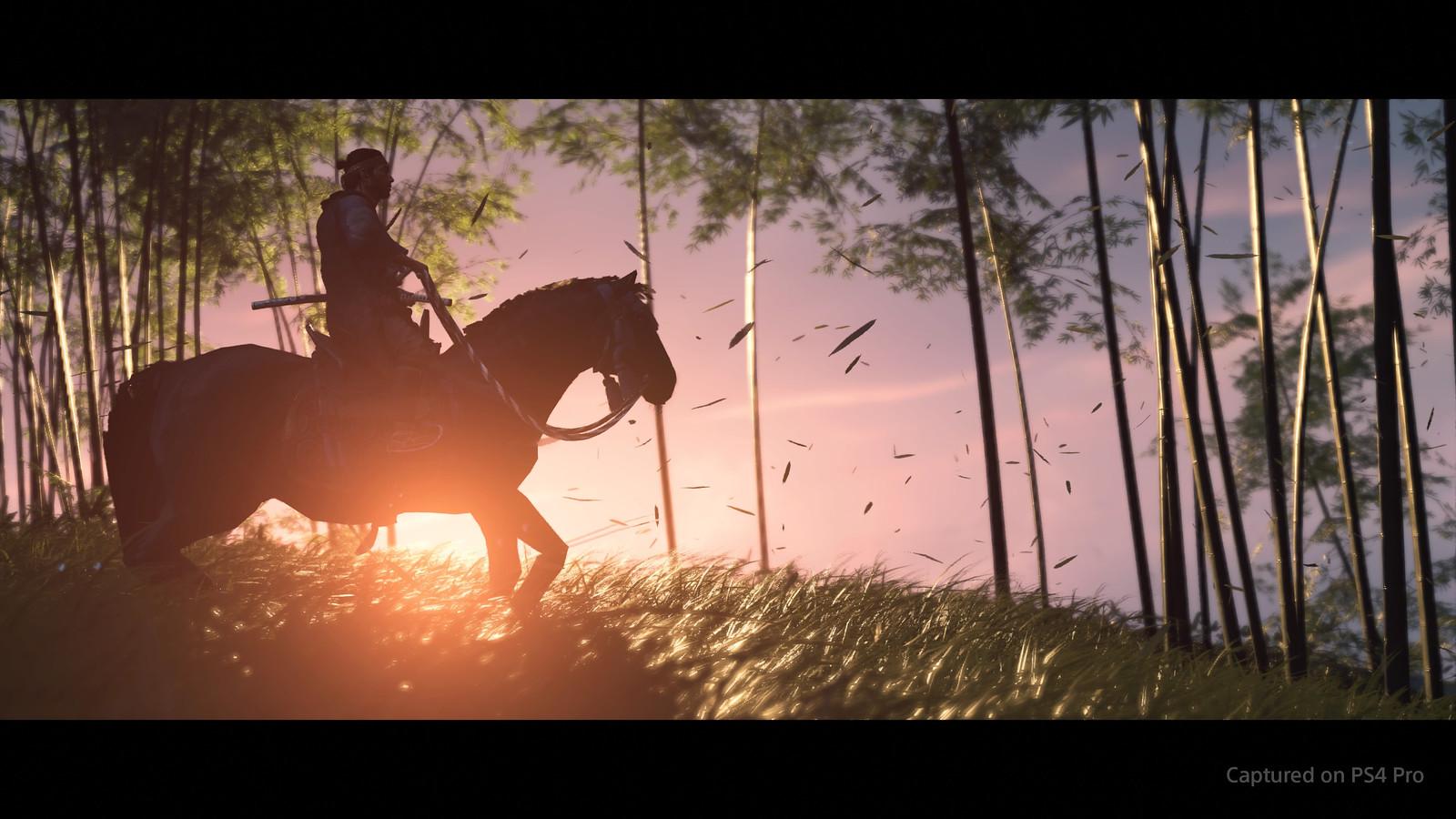 可玩的日本武士片 PS4《对马岛之鬼》发布上市预告