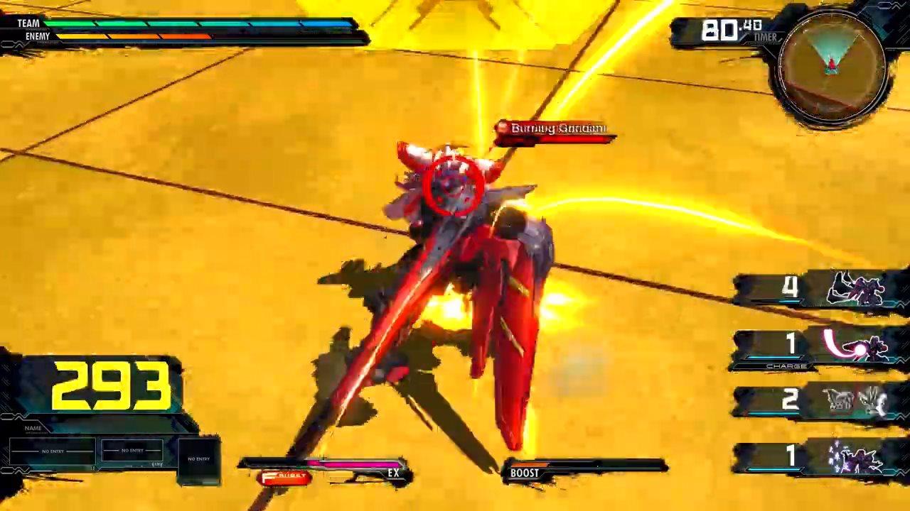 《机动战士高达 EXTREME VS.极限爆发》尊者高达介绍影片