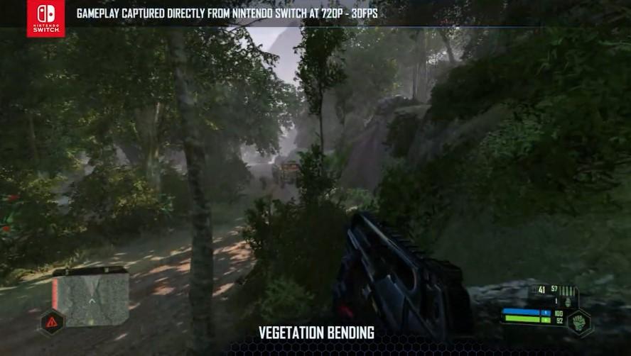 《孤岛危机:重制版》Switch新预告 真实的720P30帧