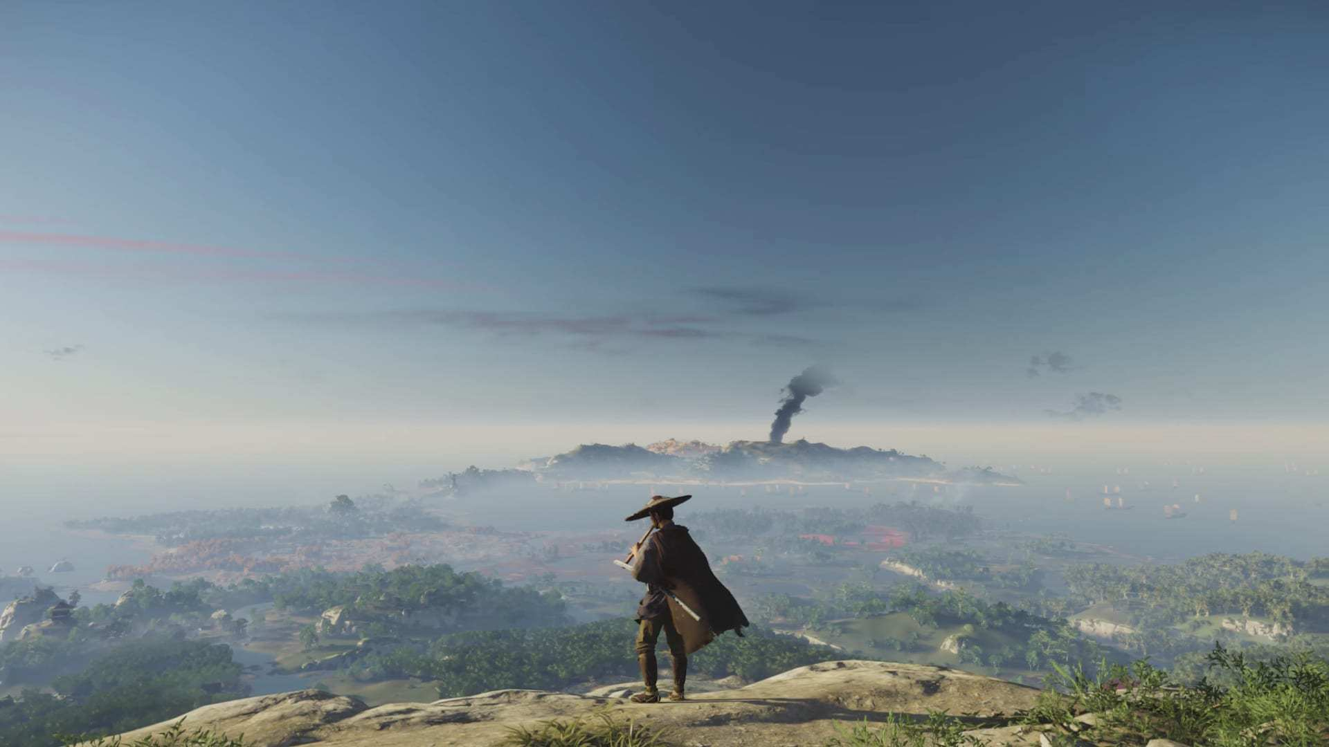 《对马岛之鬼》游戏地图究竟有多大