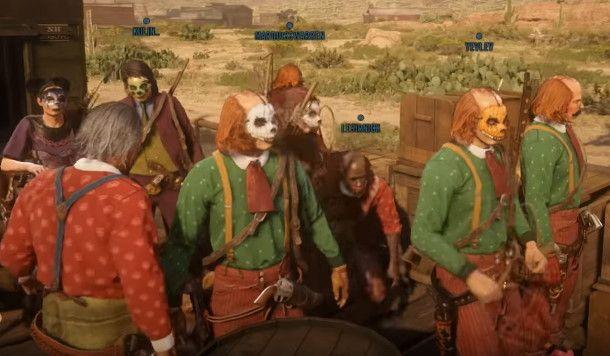 《荒野大镖客OL》内容匮乏 粉丝打扮成小丑抗议R星