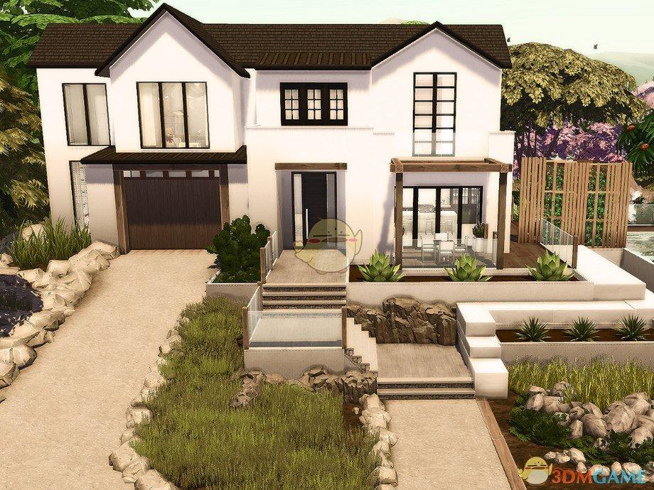 《模拟人生4》舒适现代双层住宅MOD