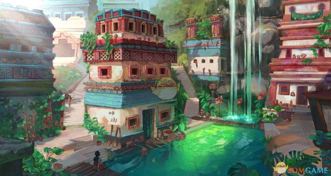 《Wallpaper Engine》祖玛遗迹之城动态壁纸