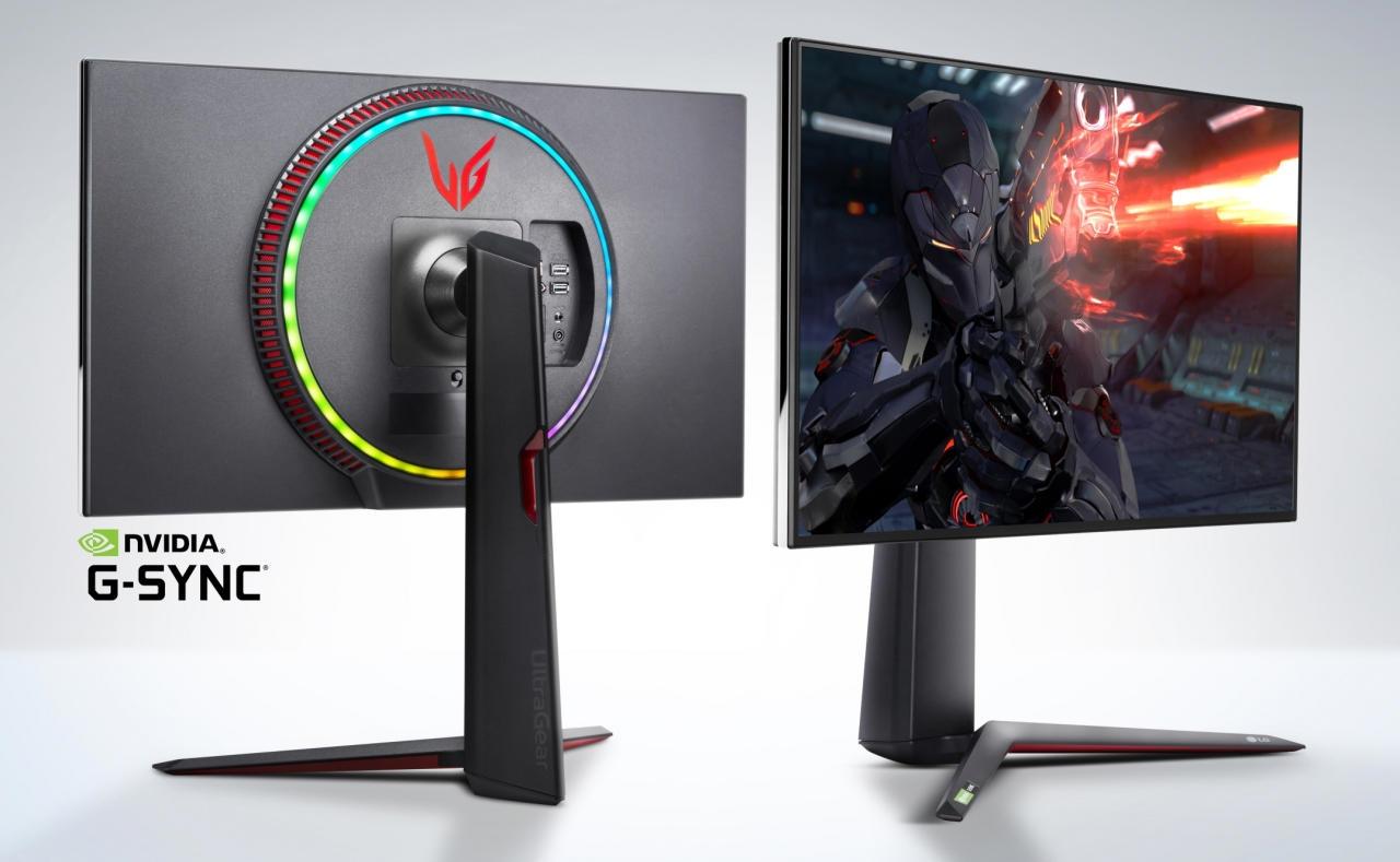 LG发布全球首款1ms GTG响应4K/144 IPS显示器