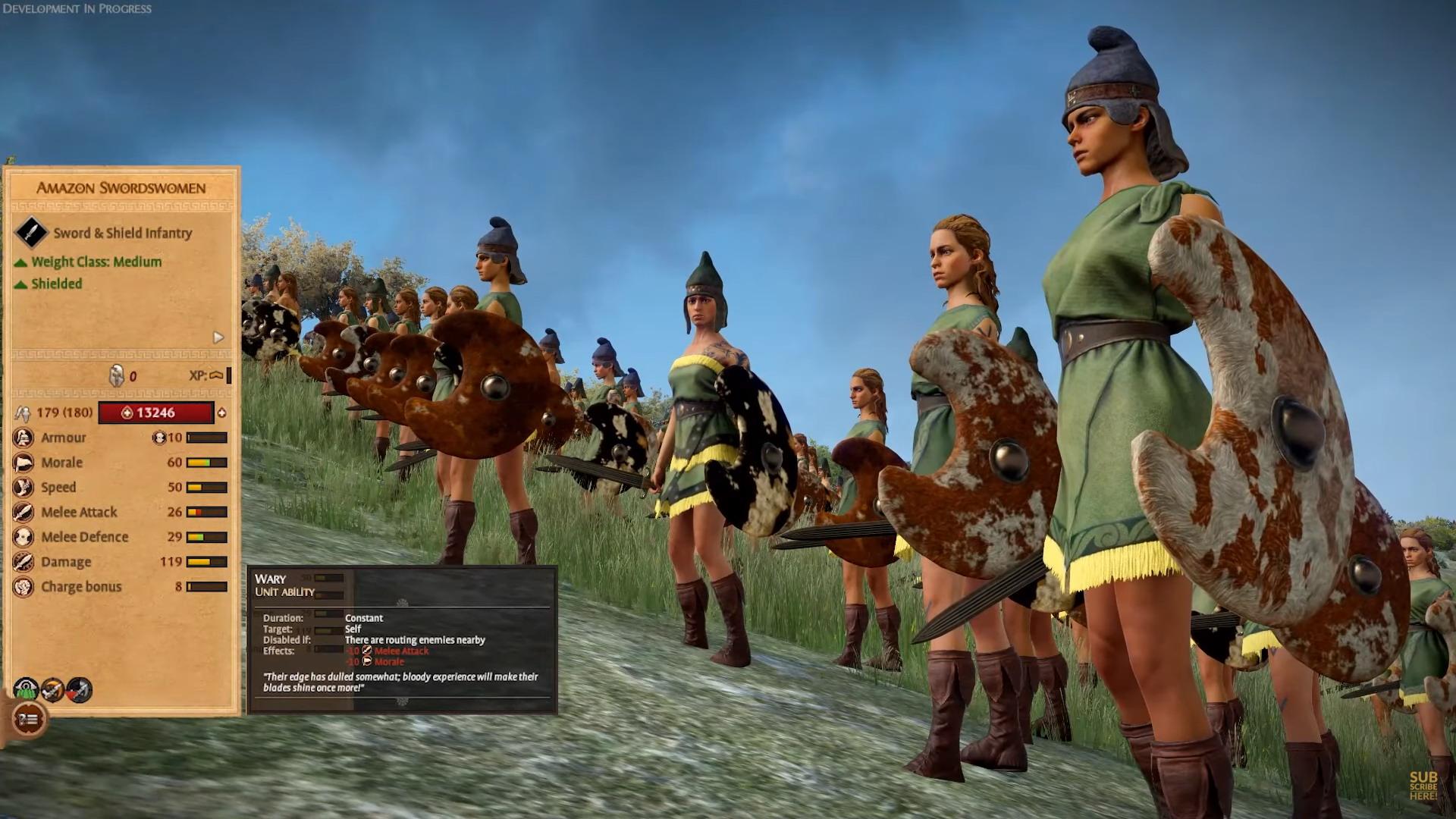 特洛伊战争英文简介_《全面战争传奇:特洛伊》希腊亚马逊DLC介绍 全是女兵_3DM单机