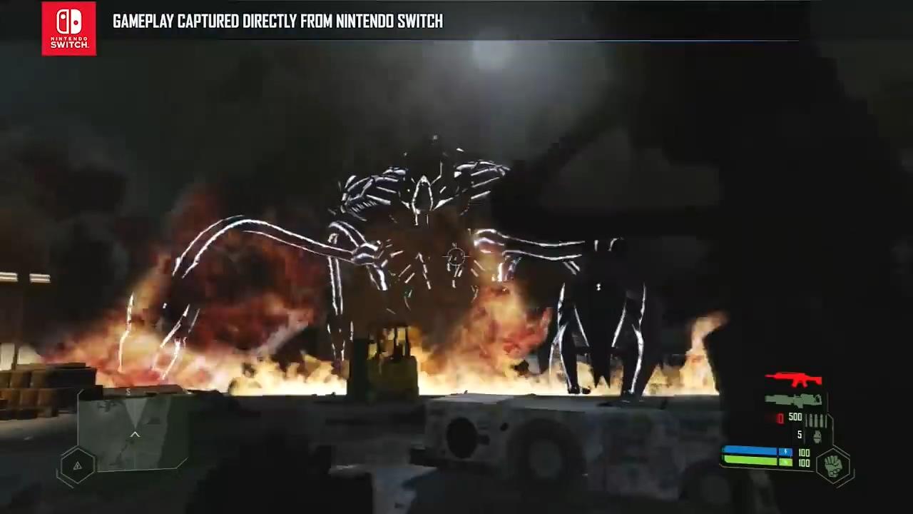 Switch版《孤岛危机:复刻版》上市预告