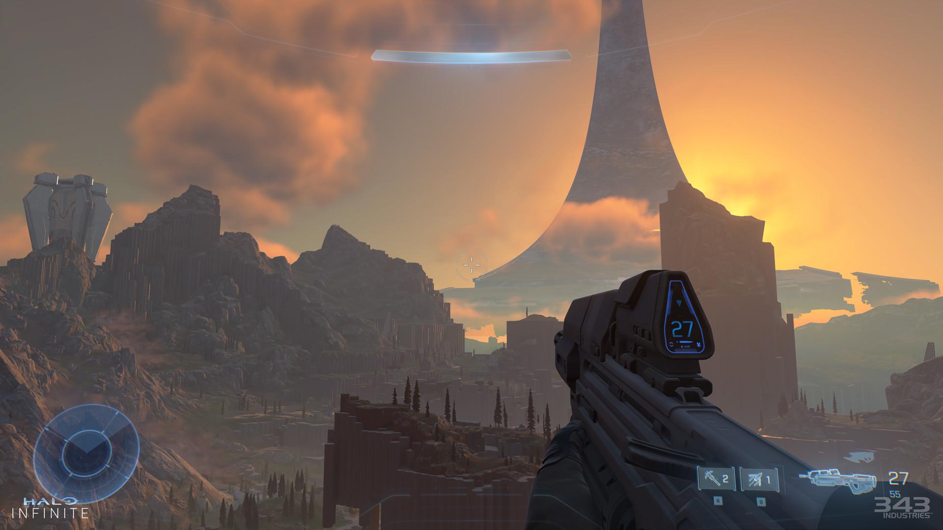 《光环:无限》XSX实机演示公开 Steam版同步发售