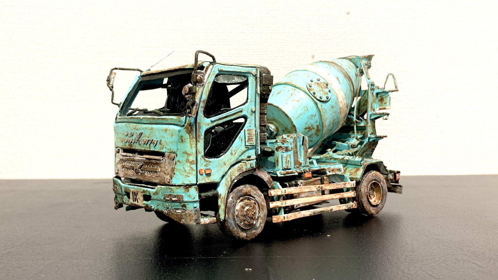 纸模高玩打造废弃风格卡车模型 造型极度逼真网友热赞